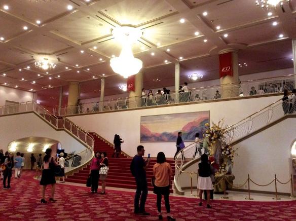 The foyer of the Takarazuka Grand Theatre