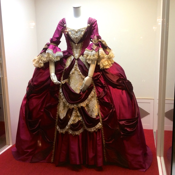 A Takarazuka costume on display