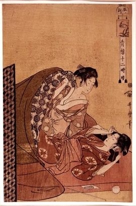 Kitagawa Utamaro - Hour of the Dragon © British Museum
