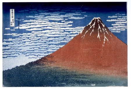 Hokusai, Thirty-six views of Mount Fuji © British Museum